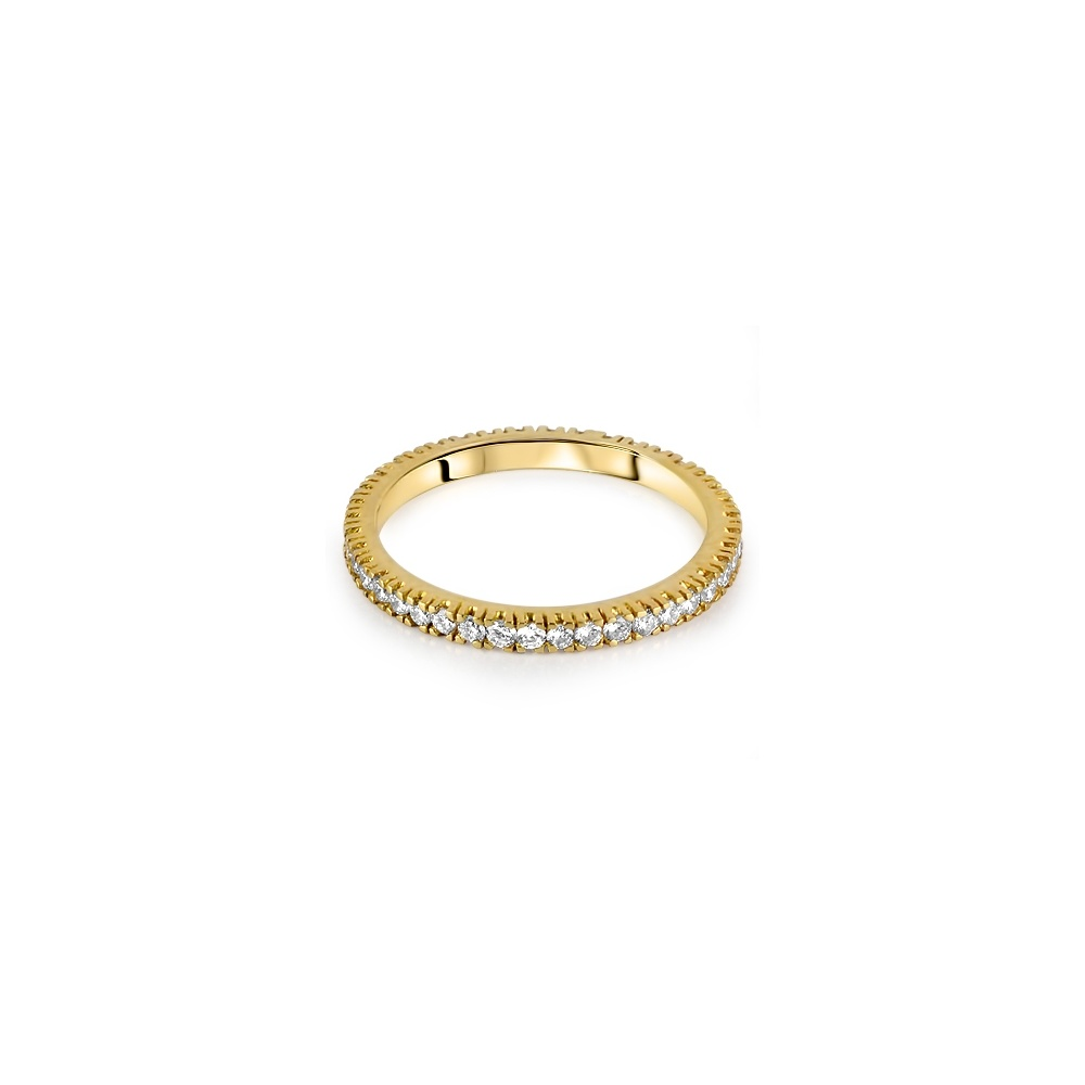 18ct yellow gold micro set brilliant cut full eternity ring. Black Bedroom Furniture Sets. Home Design Ideas