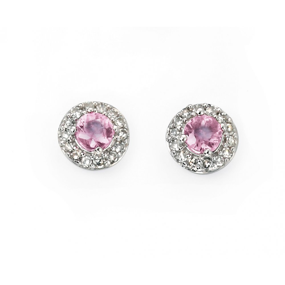 diamonds includes lab womens products earrings dangle created white sapphire pink diamond gold