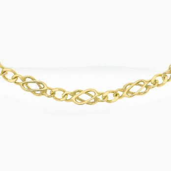 9ct Yellow Gold Solid Celtic Chain