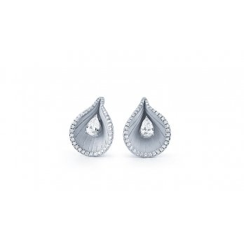Anna Maria Cammilli 18ct White Gold & Diamond Premiere Earrings
