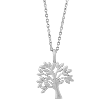 byBiehl Life Tree silver necklace 18 inch