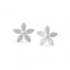 byBiehl Silver Forget-me-not earring