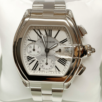 Cartier Gents Automatic Roadster Chronograph XL in Stainless Steel