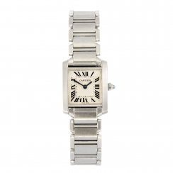Ladies Stainless Steel Tank Française Watch
