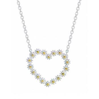 Daisy 20.5MM IOTA HEART NECKLACE