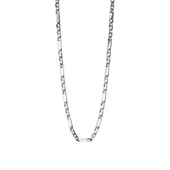 Fred Bennett Stainless steel bar chain necklace