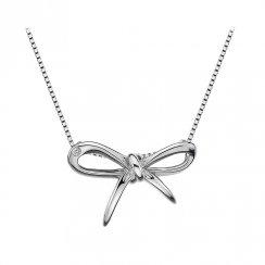 Florish Silver Bow Pendant