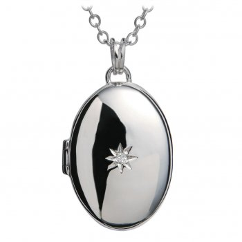 Hot Diamonds Just Add Love Inheritance Silver Locket Pendant