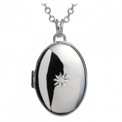 Just Add Love Inheritance Silver Locket Pendant