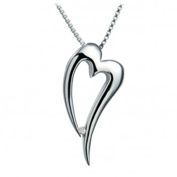 Hot Diamonds Just Add Love Lingering Heart Pendant