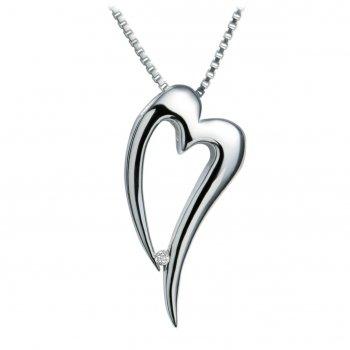 Hot Diamonds Just Add Love Lingering Heart Pendant