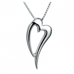 Just Add Love Lingering Heart Pendant