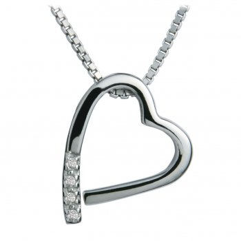 Hot Diamonds Just Add Love Memories Heart Pendant