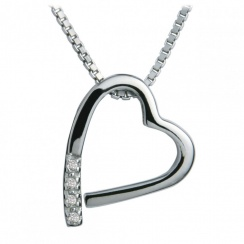 Just Add Love Memories Heart Pendant