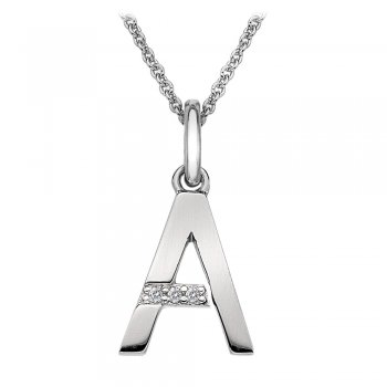 Hot Diamonds Micro Letter A Pendant