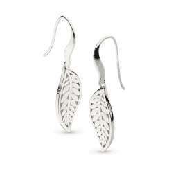 Blossom Eden Small Leaf Drop Earrings