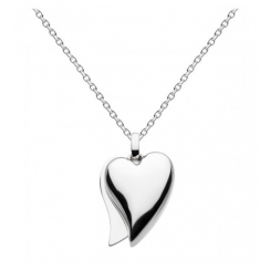 Love Affair Heart Necklace 18""