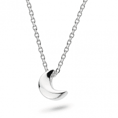 Miniature Mini Moon Necklace