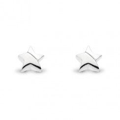 Miniature Shining Star Stud Earrings
