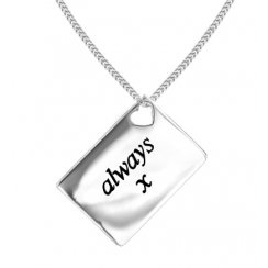 Love Letters 'Always x' Envelope Pendant