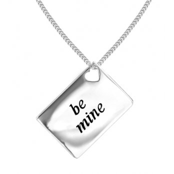 Lily and Lotty Love Letters 'Be Mine' Envelope Pendant