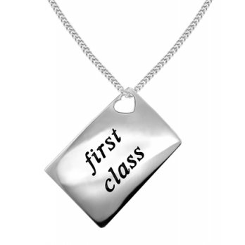 Lily and Lotty Love Letters 'First Class' Envelope Pendant