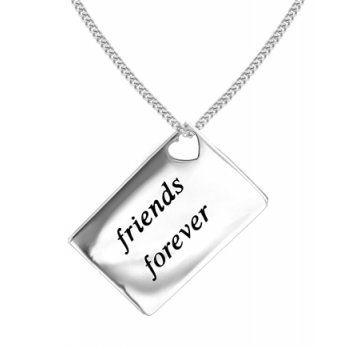 Lily and Lotty Love Letters 'Friends Forever' Envelope Pendant