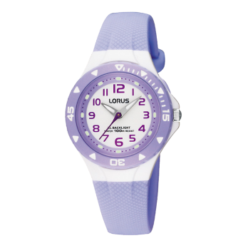 Lorus Lilac Childrens Analogue Watch - RRX51CX9