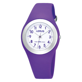 Lorus Purple Childrens Analogue Watch - R2305GX9