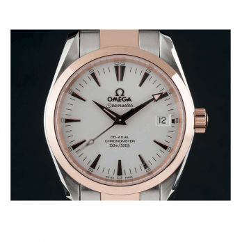Omega Seamaster Aquaterra Automatic Co Axial - Stainless steel and 18ct Rose Gold