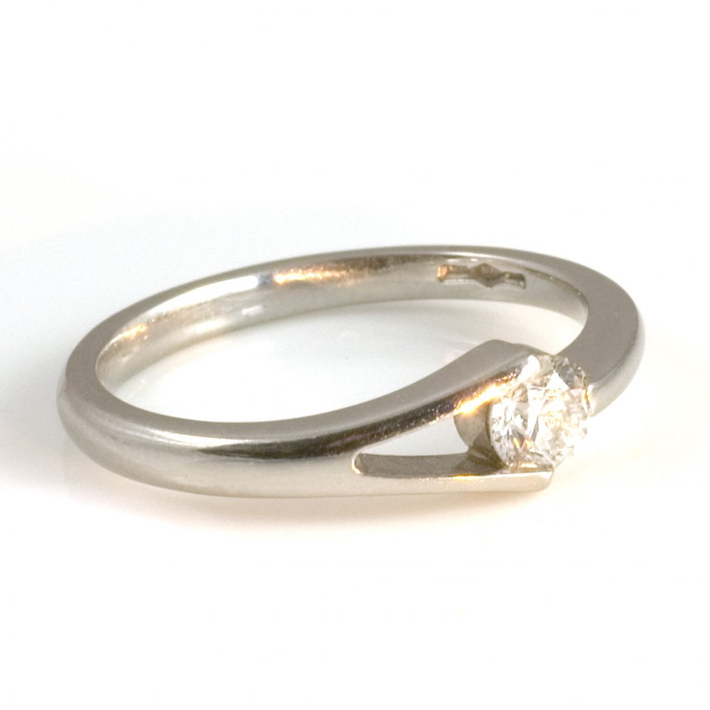platinum engagement ring from wrights the