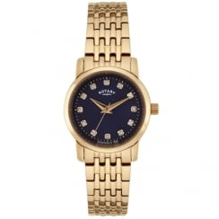 Rotary Sloane Rose Gold Plated Watch