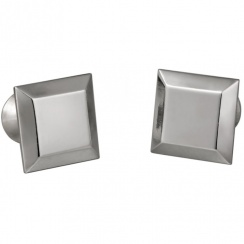 Square Pewter Cufflinks