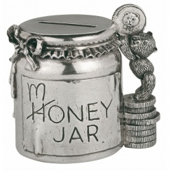 Teddy Bears' Picnic Pewter Coin Box