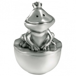 The Frog King Pewter Tooth Box