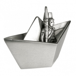Toy Soldier Pewter Tooth Box