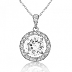 Brilliance Silver Pendant
