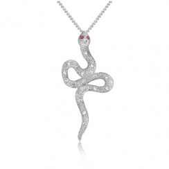 Mythos Serpent Silver Pendant