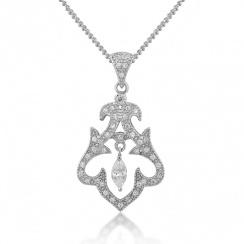 Romance Rai Silver Pendant