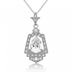 Royal Crest Silver Pendant