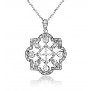 V Jewellery Royal Seal Silver Pendant