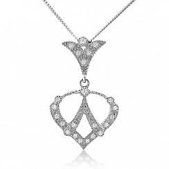 Royal Spade Silver Pendant