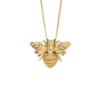 Elements Gold Yellow Gold Bee Pendant by Elements Gold-Chain not included